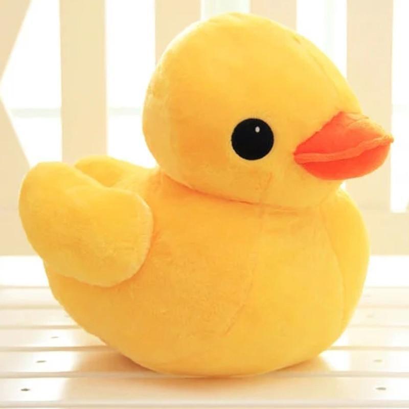香港大黄鸭毛绒玩具公仔 小鸭子玩偶儿童抱枕婚庆布娃娃情人节礼物 30