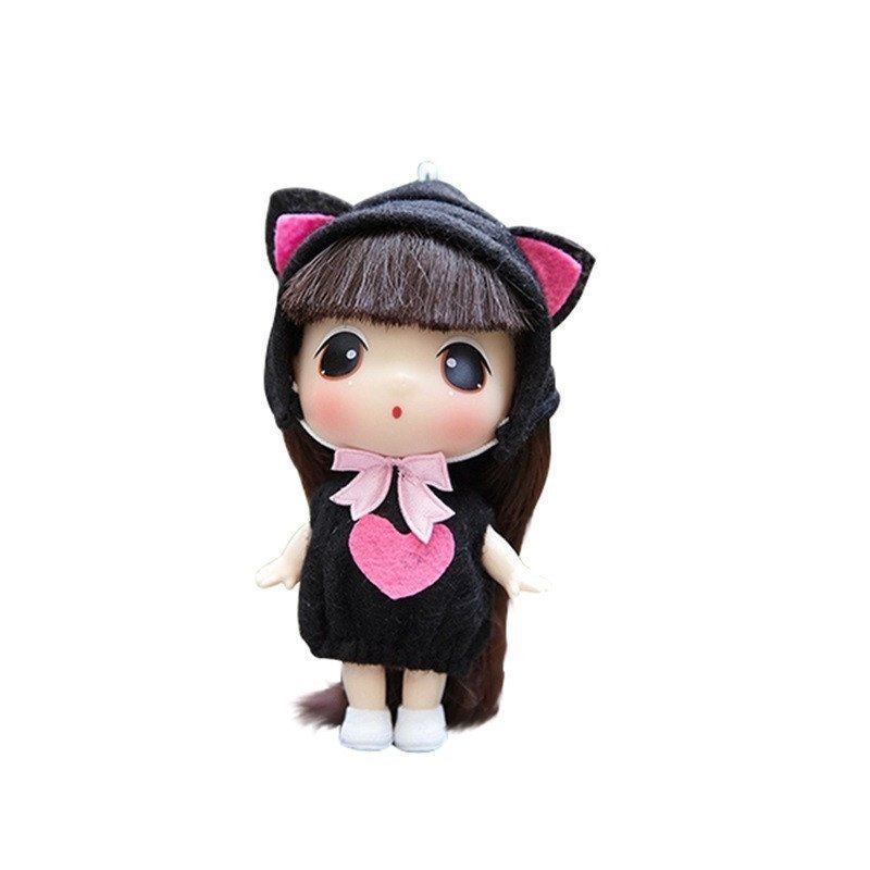 ddung冬己娃娃 来自韩国的迷糊娃娃 9cm可爱版 实惠装