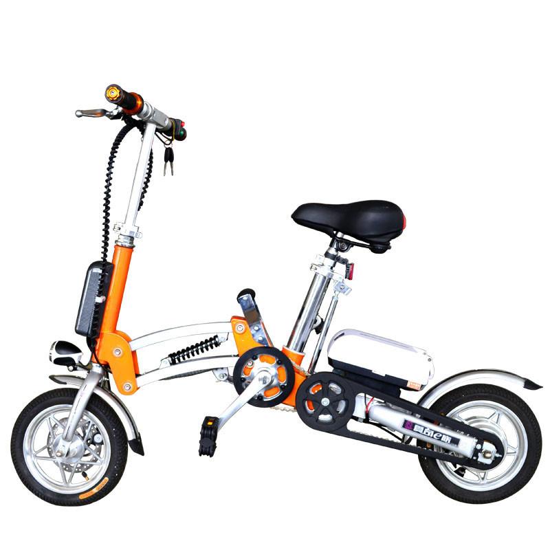 爱奇E族 可折叠锂电自行车 WMM12