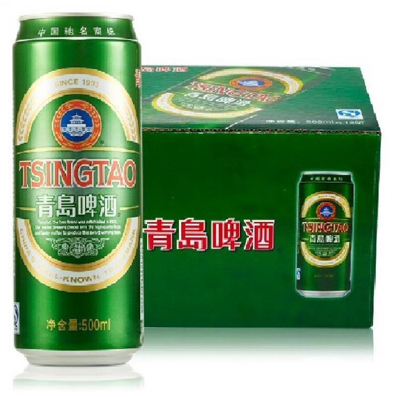 青岛啤酒经典10度500*12罐啤 青岛啤酒【价格 图片
