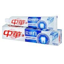 苏宁超市自营 中华瓷感白冬青薄荷味牙膏140g【联合利华】