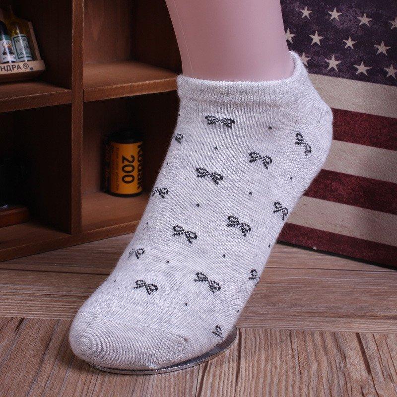 安登羊 袜子女棉袜女士夏季薄款隐形船袜女士短袜可爱