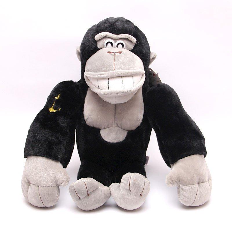 可爱仿真大猩猩毛绒玩具金刚猴公仔玩偶猴年