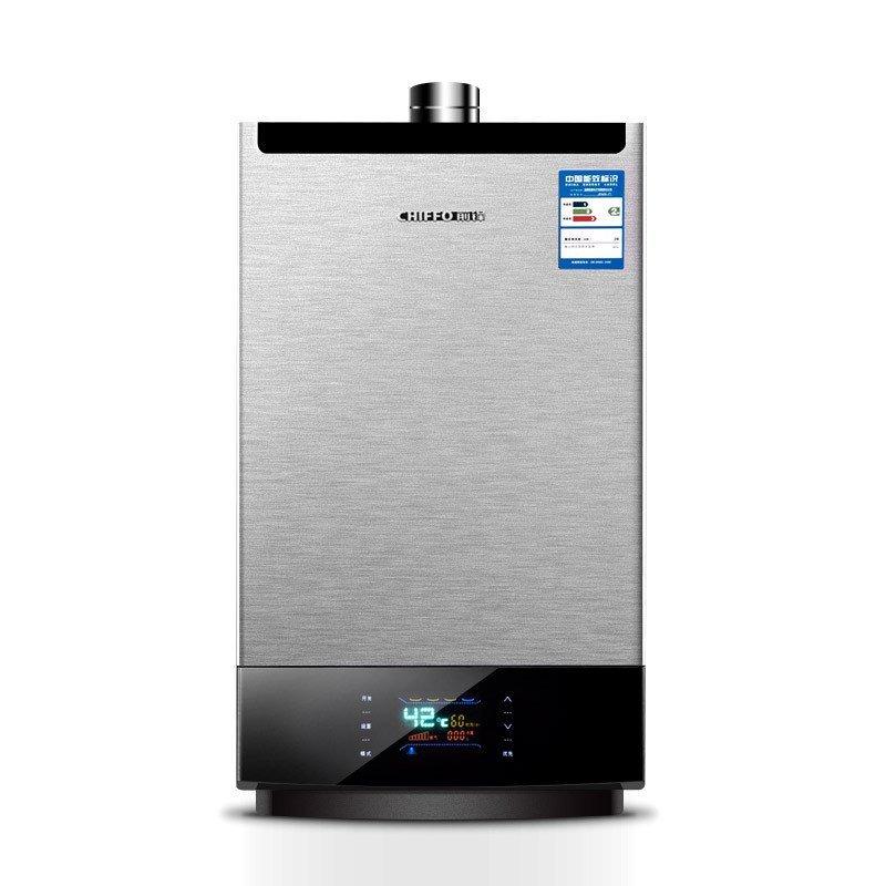 前锋(chiffo)jsq26-f1001 燃气热水器 强排 恒温热水器 天然气热水器