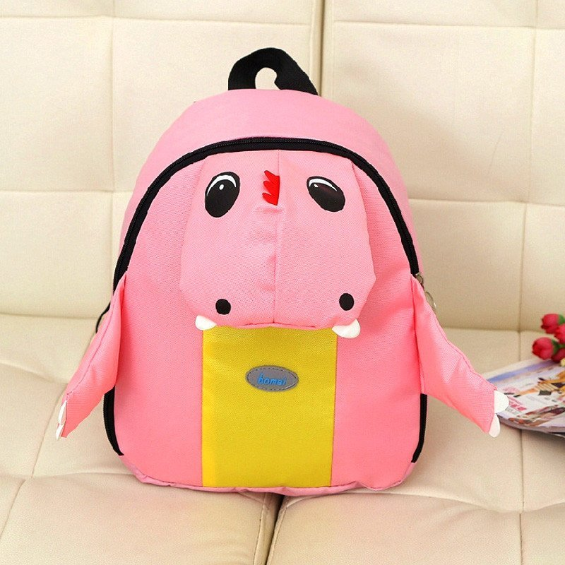 【恐龙粉色】 绎美 儿童双肩包 迷你卡通学生背包 小学生书包 送孩子