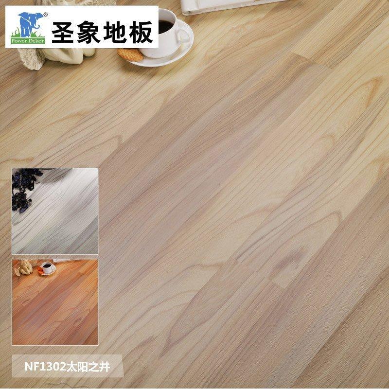 圣象地板 f4星魔幻系列地板 圣象强化复合木地板 双拼浮雕nf1301