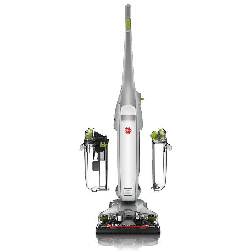 胡佛(Hoover)Floormate干湿两用吸尘器 洗地机 原厂配赠地板地砖双刷头 原装地面清洁液一瓶