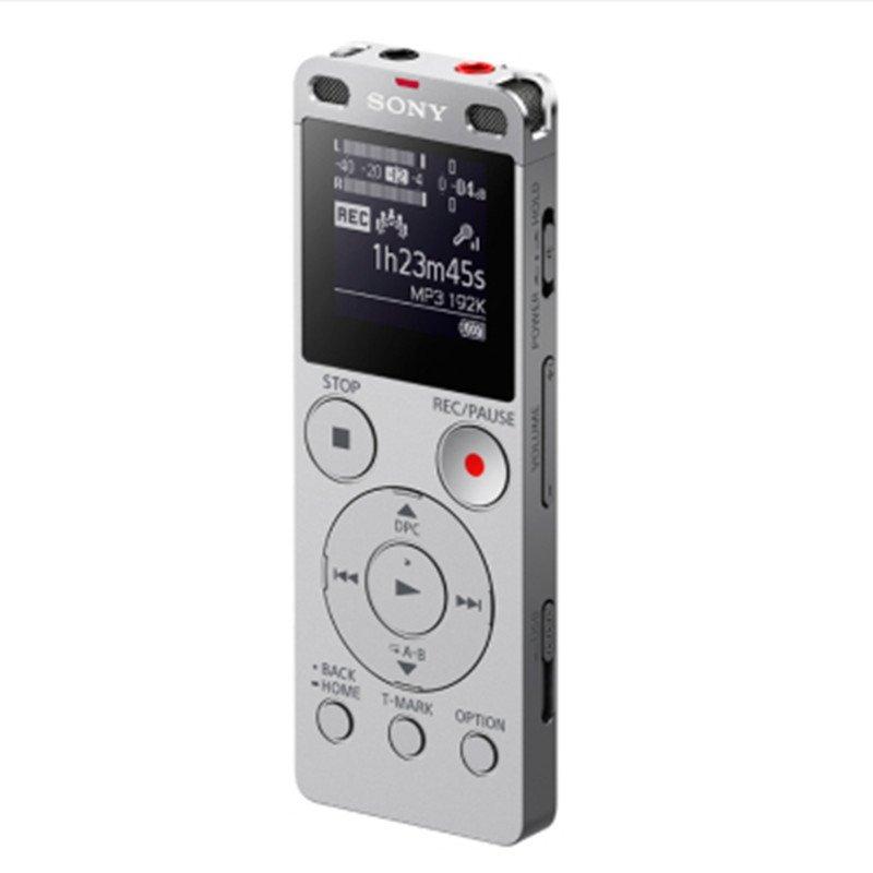 索尼立体声数码录音棒ICD-UX565FSC银色