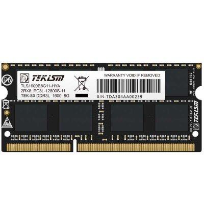 特科芯(TEKISM)TEK-S3 8G DDR3L 1600MHz 笔记本内存条