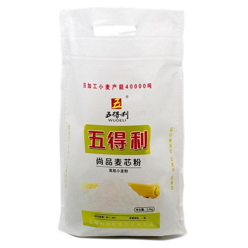 【苏宁易购超市】五得利尚品麦芯粉高筋小麦粉高筋粉2.5kg