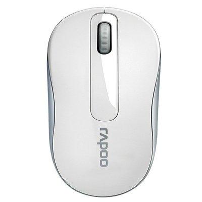雷柏(Rapoo) M216 白色 臺式電腦筆記本 USB 光電 家用 商務 辦公 便攜 無線鼠標