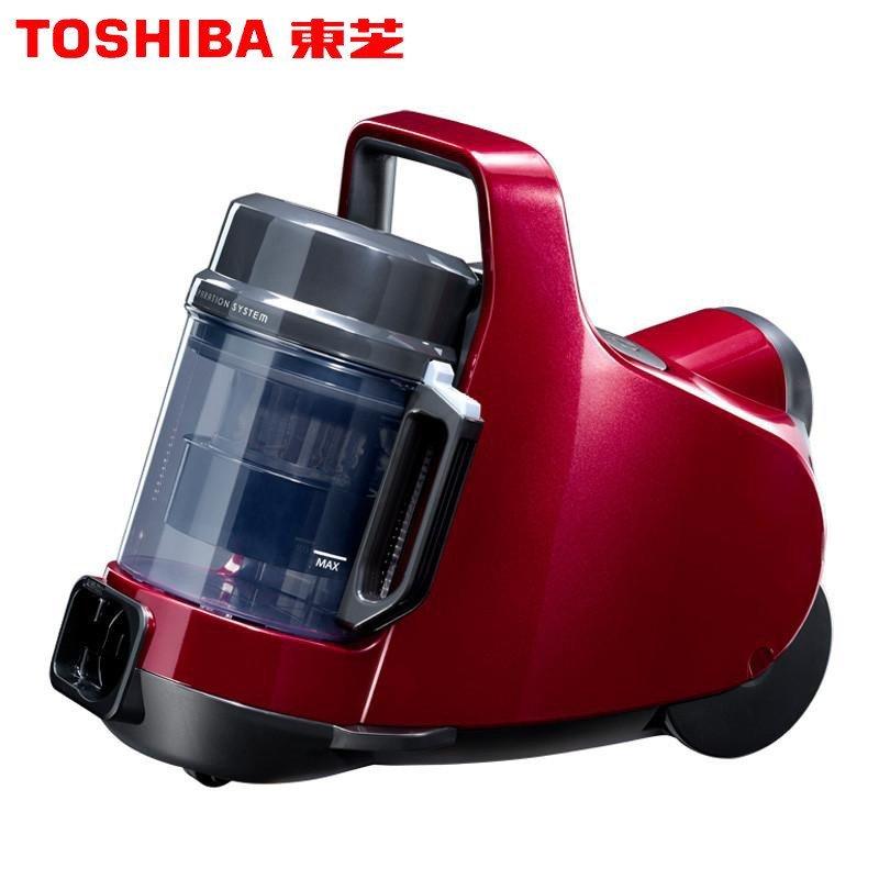 东芝(TOSHIBA) 吸尘器VC-GC33EC 旋风智能静音家用大吸力吸尘器小巧精致