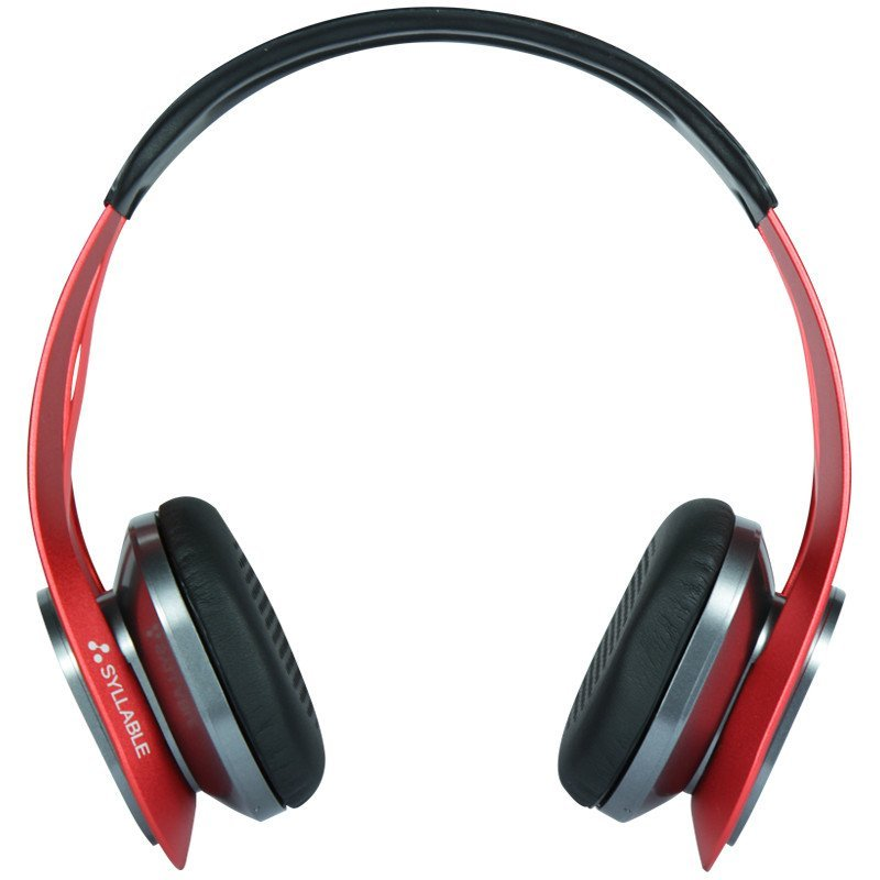 赛尔贝尔(SYLLABLE) G700-005 艾弗森纪念版 金属质感潮品 头戴式蓝牙耳机 红色