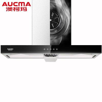 Aucma/澳柯玛油烟机CXW-245MT605智能纯屏触控T型抽油烟机