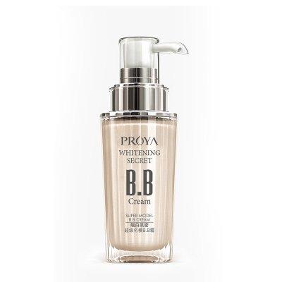 珀莱雅(PROYA)靓白肌密超名模BB霜(自然色)40ml 轻薄底妆 多功能BB霜