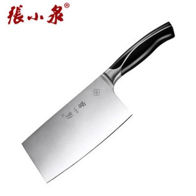 张小泉 (Zhang Xiao Quan) W70038000 锐志不锈钢切片刀 湿式开刃钼钒钢锋利厨师切菜切肉菜刀