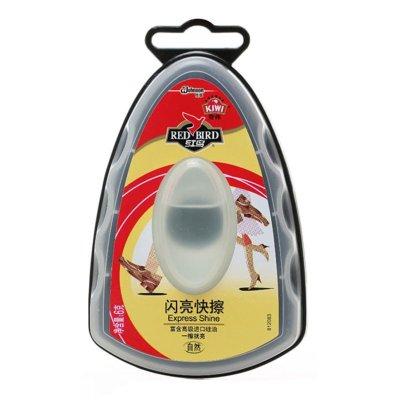 紅鳥 奇偉(qiwei)自然色閃亮快擦 白色 進口硅油 一擦就亮