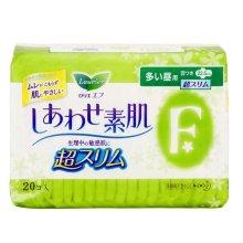 花王乐而雅F透气棉柔 超丝薄日用护翼型卫生巾20片