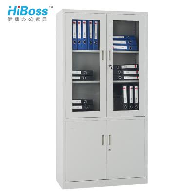 HiBoss文件柜鐵皮柜大器械柜檔案柜辦公資料柜鐵柜子