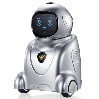 勇艺达小勇机器人Y50B 太空银 儿童智能语音聊天 家庭智能陪伴学习教育 声控智能家居视频监控