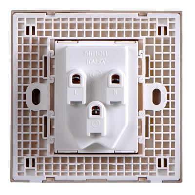 西蒙开关插座 一开二开三开 单控双控开关 电工清单开关面板选购 e6