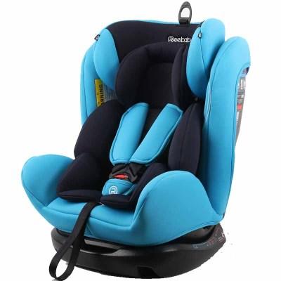 瑞贝乐(REEBABY)RIOLA汽车儿童约束系统(汽车安全座椅)906/906F 美队0-12岁正反安装0-36kg 博学蓝普通款