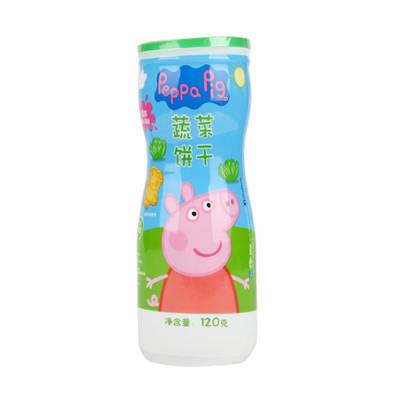 Peppa Pig 小猪佩奇 蔬菜饼干120g/瓶