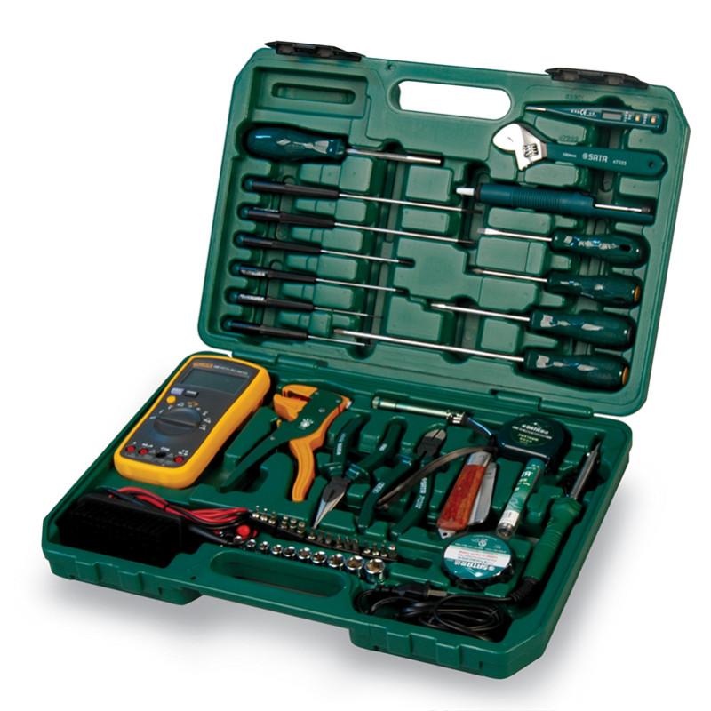 世达53件电讯工具组套 09535