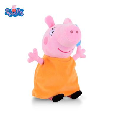 【蘇寧自營】小豬佩奇毛絨玩具 PeppaPig小豬佩奇毛絨玩具豬媽 19cm