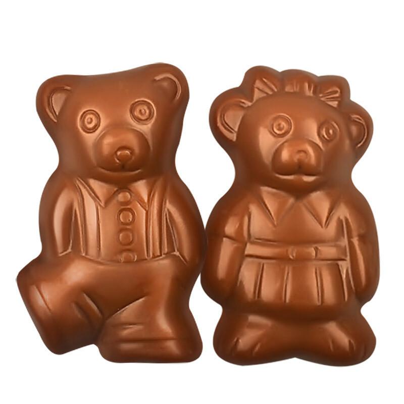 萨洛缇小熊牛奶巧克力100克