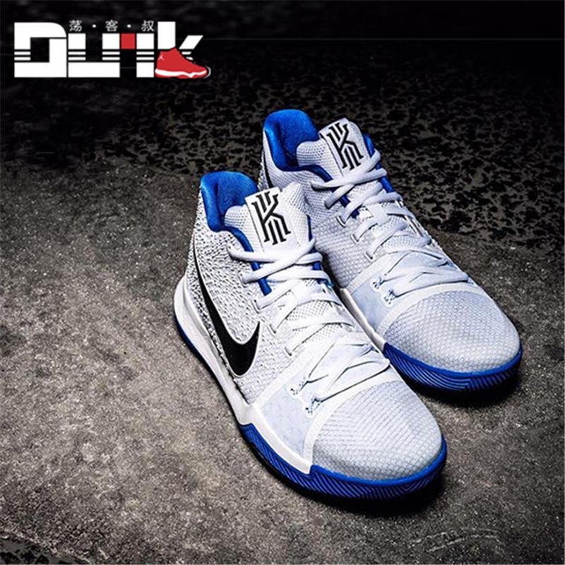 专柜正品耐克欧文3代篮球鞋kyrie 3战靴首发配色全明星852396-681/018图片
