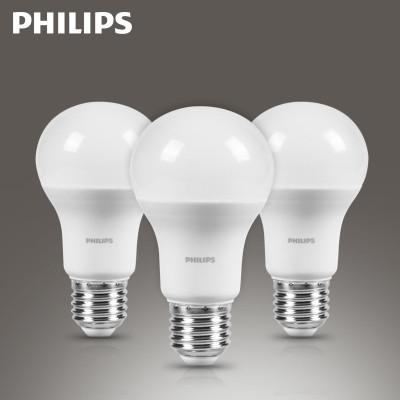 飞利浦 led灯泡e27螺口灯泡暖白光家用照明球泡节能单灯3wLED光源 Philips超大球泡11.5W