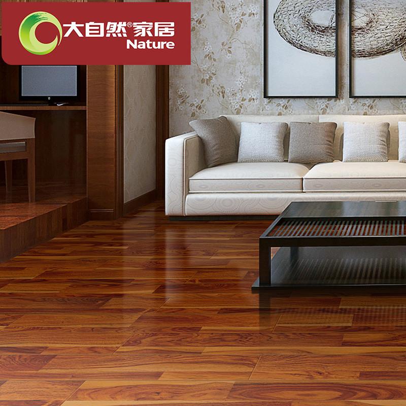 大自然地板 强化复合木地板 炫彩系列 两色(裸板) 东墨西彩 1218*146