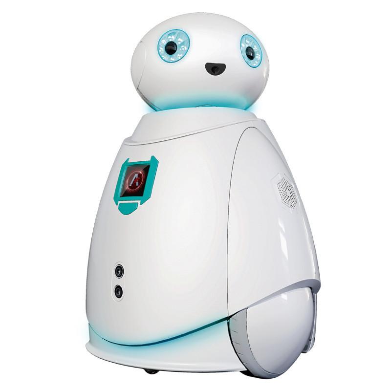 智能机器人_玩具益智教育遥控机器人pvc材质wifi智能控制