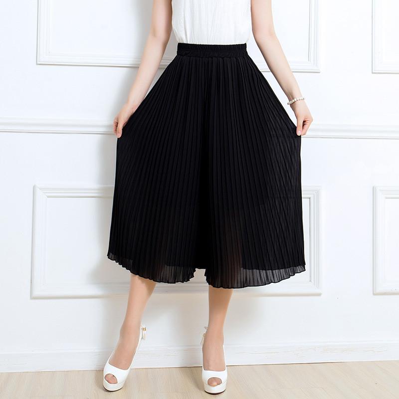 阔腿裤改成裙子图解