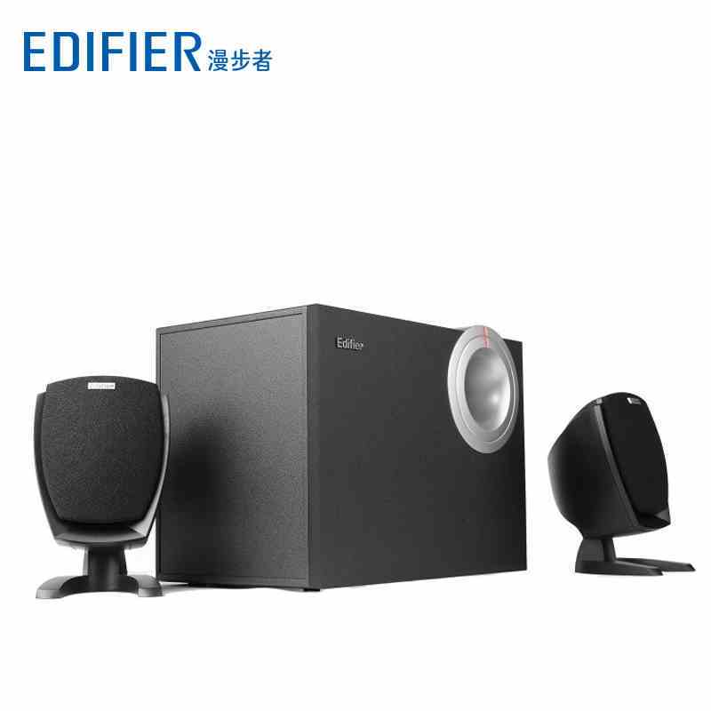 Edifier/漫步者 R201T06 2.1通道多媒体有源音箱 黑色