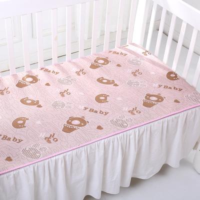 【苏宁自营】龙之涵婴童冰丝凉席 防滑透气 婴儿床凉席坐垫