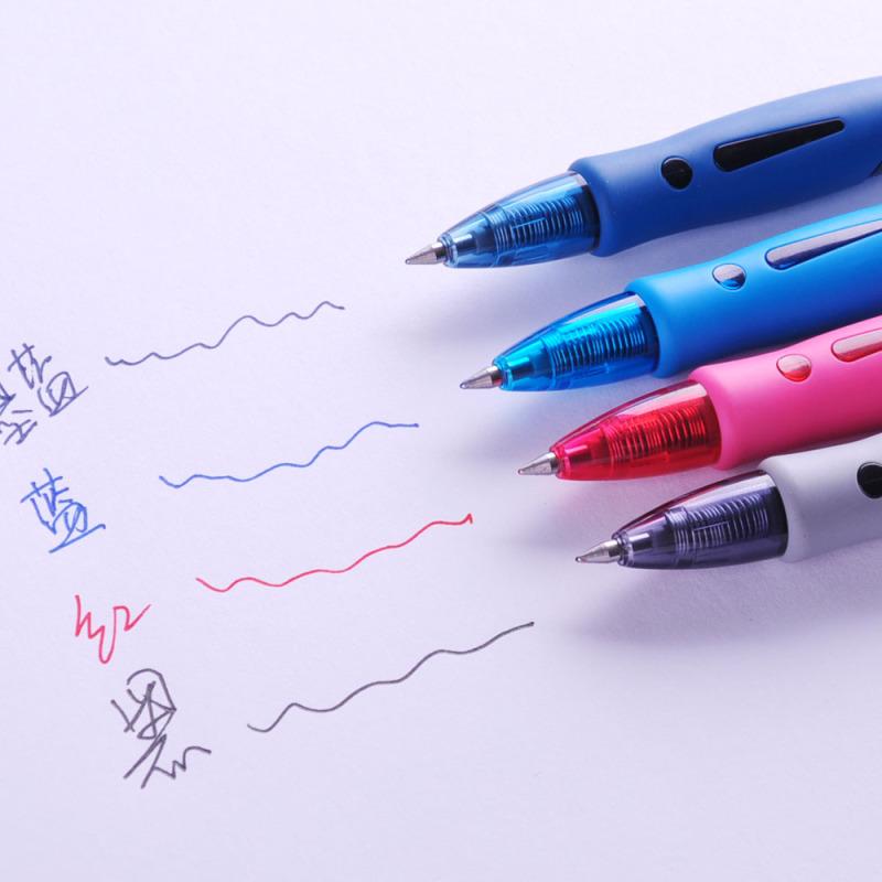 晨光(M&G)1008按动中性笔12支/盒 3盒装 0.5mm 中性笔 签字笔 水性笔 签名笔 办公用品 黑色