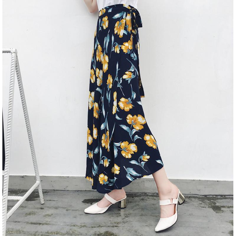 琳朵儿气质复古一片式半身裙系带显瘦中长裙1493192356342 一片式大小
