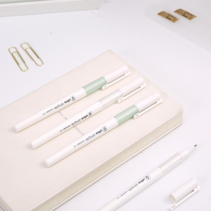 晨光(M&G)AGPA4901黑色中性笔 10支/盒 0.5mm 中性笔 签字笔 水笔 水性笔 写字笔 书写笔 黑色10支装