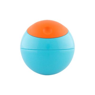 Boon啵儿 球形防洒零食罐盒 蓝色/橘色