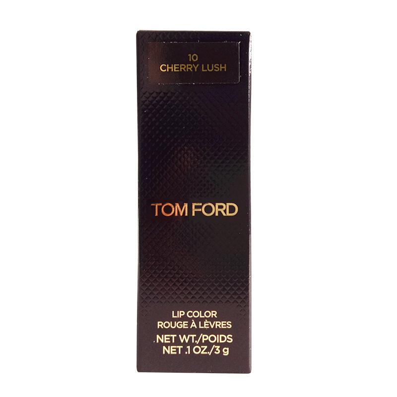 【苏宁超市】汤姆福特(Tom Ford)烈焰幻魅唇膏 3g 10# TF黑金黑管唇膏口红 一抹丰盈饱满
