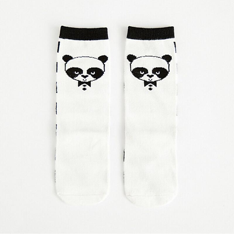 儿童袜子棉品童袜韩国可爱熊猫宝宝纯棉中筒袜29tc6711496669799862