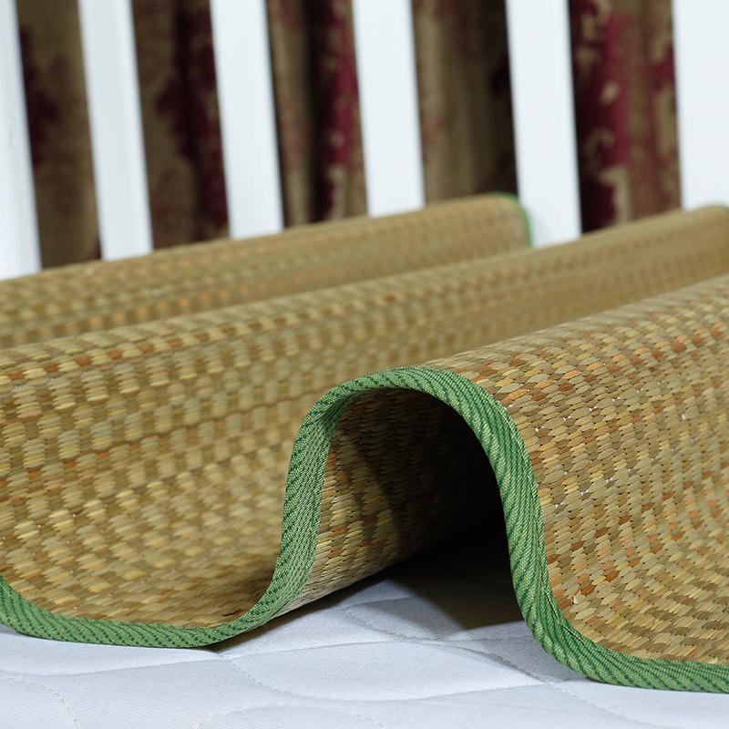 夏季学生凉席儿童草席幼儿园午睡席婴儿床席双面宝宝席子凉席凉枕生活