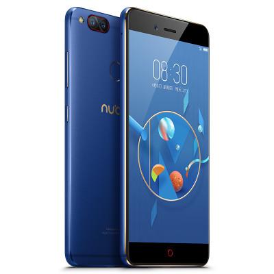努比亚(NX563J)Z17 黑金色 6GB+128GB全网通手机