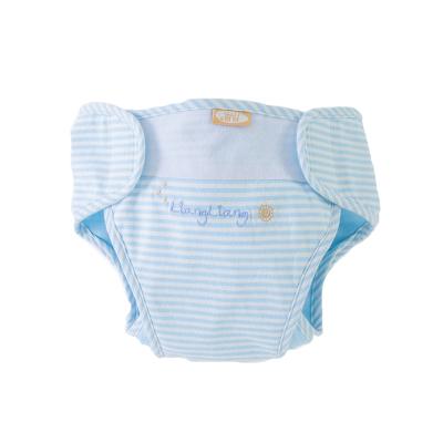 良良(liangliang)婴儿尿布裤隔尿纯棉防漏隔尿裤防水可洗新生儿宝宝透气尿布兜