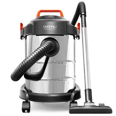 億力YILI 吸塵器家用商用干濕吹三用吸塵器 大功率桶式無耗材吸塵機YLW6263A-12L
