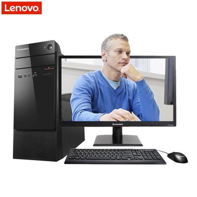 联想(Lenovo)扬天M4601c台式商用电脑+21.5英寸屏(G4400 4G 500G 无光驱 PCI W10)