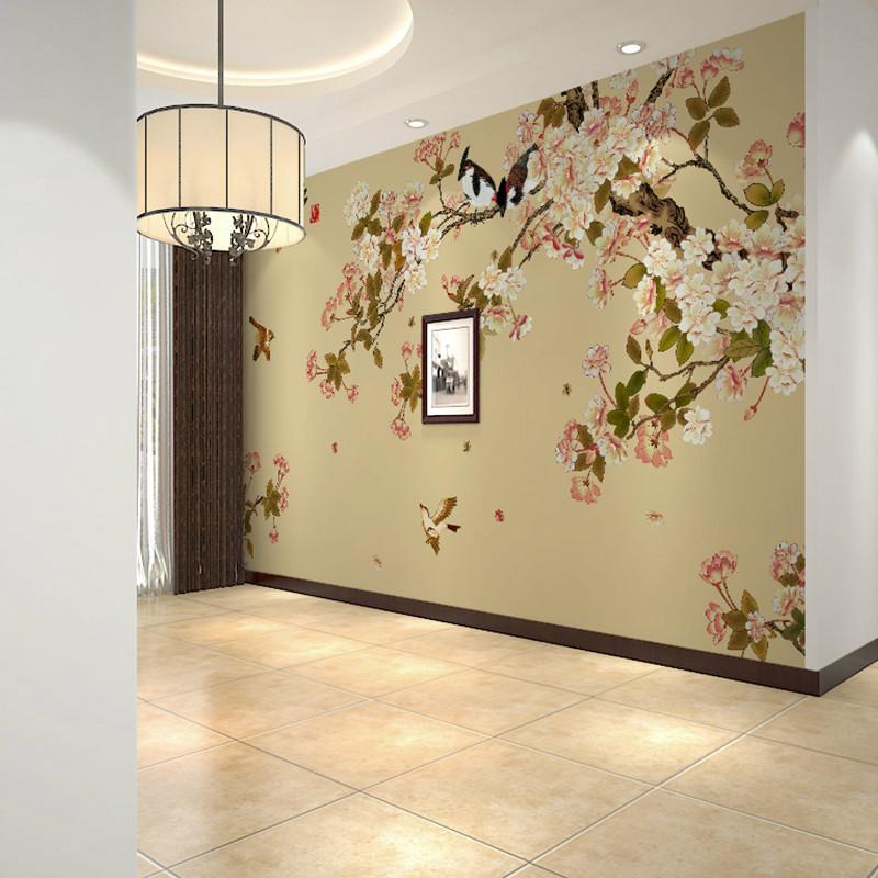 卡茵 简约现代卧室客厅壁纸 创意电视背景墙壁画 无纺布墙纸 瑞士无缝图片