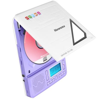 纽曼CD复读机CD-L100复读机英语CD播放机随身听便携式CD光盘播放器学生学习支持学校发放的CD光盘